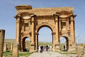 Timgad arc