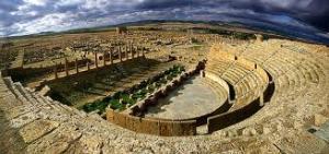 Timgad panorama